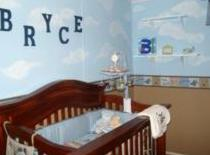 airplane nursery