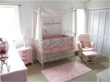 traditional baby nursery