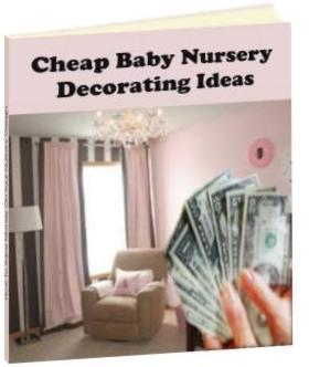 cheap baby nursery decorating ideas