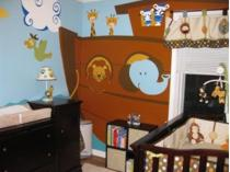 noahs ark nursery picture