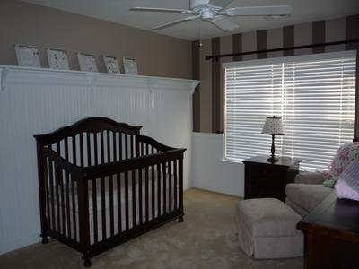 Grace Ann's Brown Stripes Nursery