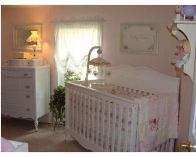 Lily's Cottage Chic Nursery
