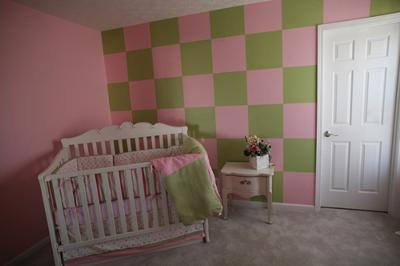 Polka Dots, Stripes and Checks Nursery
